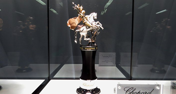 Statuetka świętego Jerzego - główna nagroda konkursu