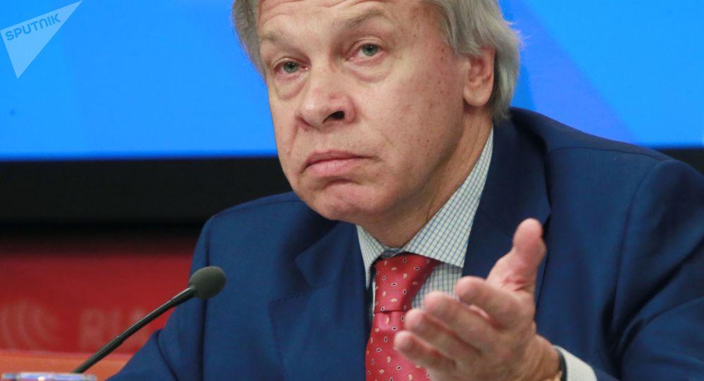Członek Rady Federacji Zgromadzenia Federalnego Rosji Aleksiej Puszkow