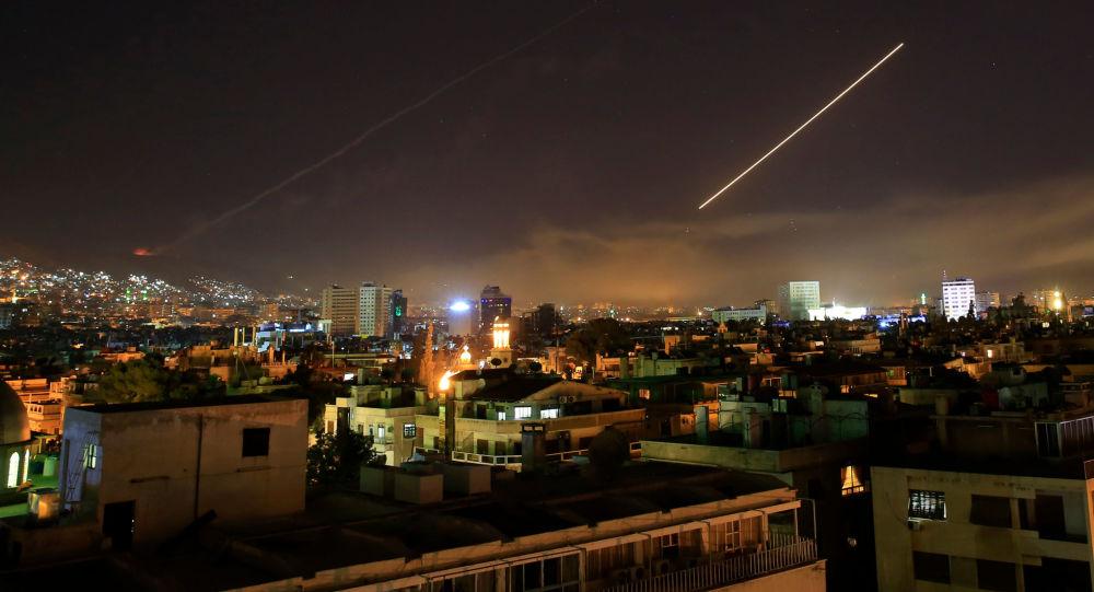 Ostrzał rakietowy Syrii