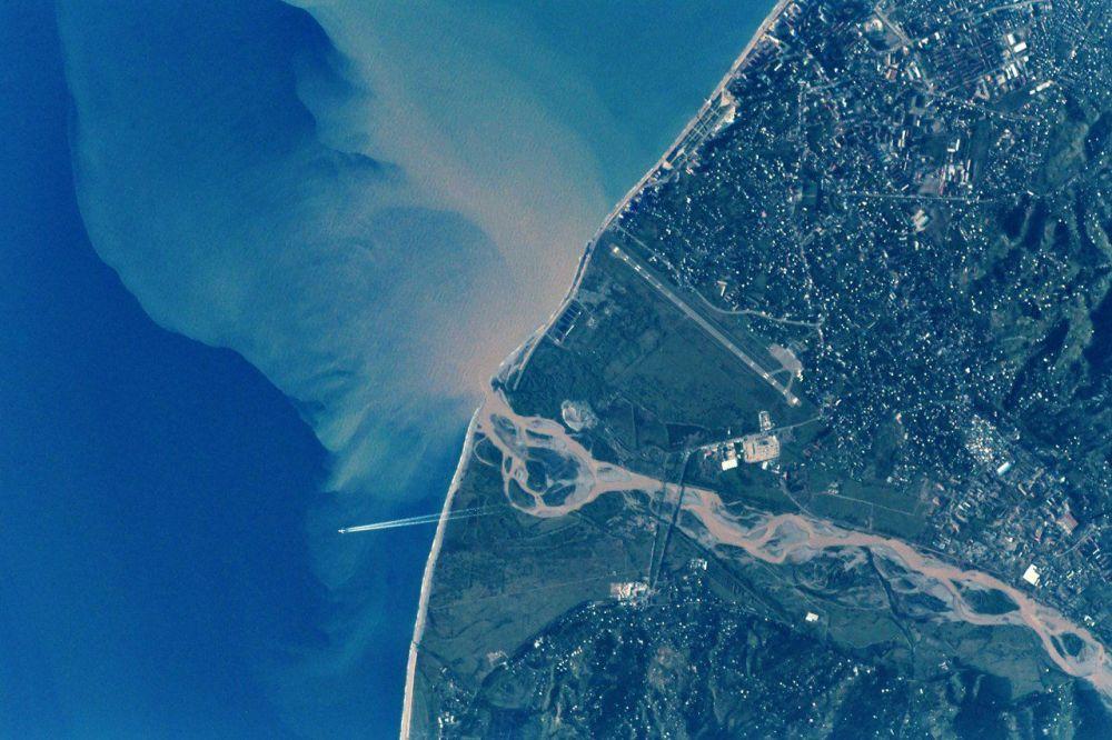 Batumi widziane z kosmosu