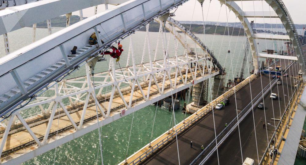 Budowa Mostu Krymskiego