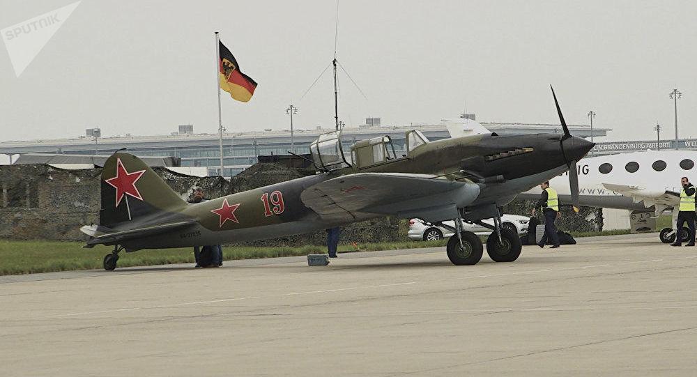 Ił-2 w Berlinie