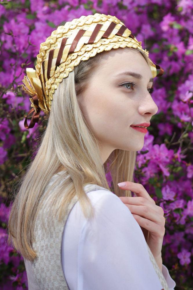 Uczestniczka konkursu piękności Królowa wiosna Białorusi Daria Misowiec