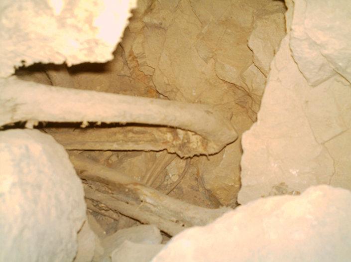 Tajemnicze szczątki znalezione w irańskiej jaskini