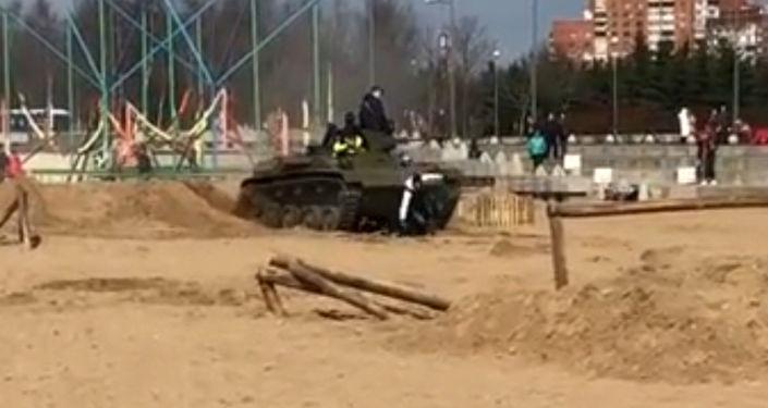 Festiwal Stal bojowa w Petersburgu