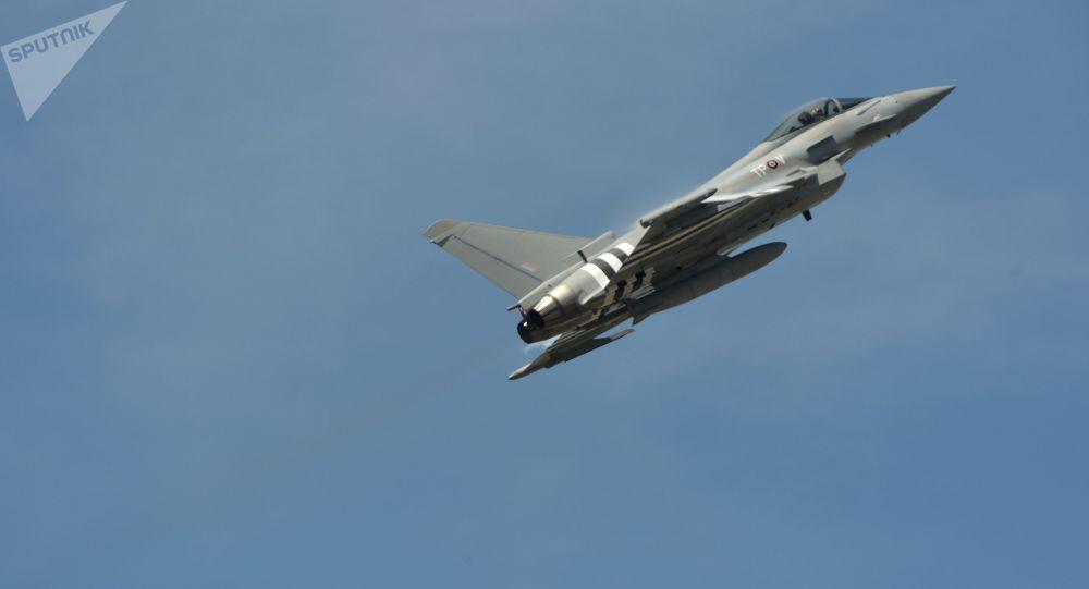 Wielozadaniowy myśliwiec Eurofighter Typhoon