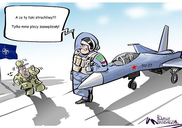 NATO kontra rosyjskie Su-27
