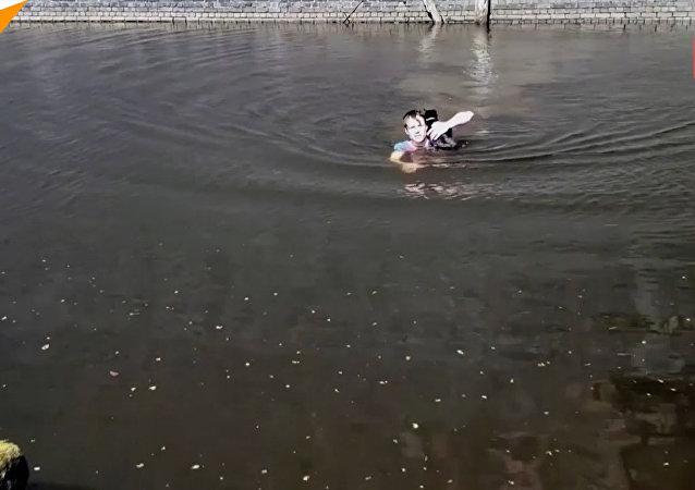 Mężczyzna uratował kota