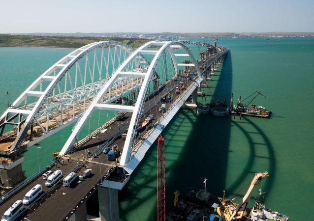 Budowa Mostu Krymskiego i podejść samochodowych ze strony Kraju Krasnodarskiego