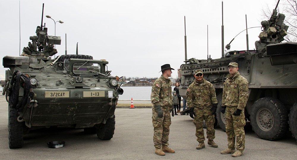 Amerykańskie transportery opancerzone Stryker