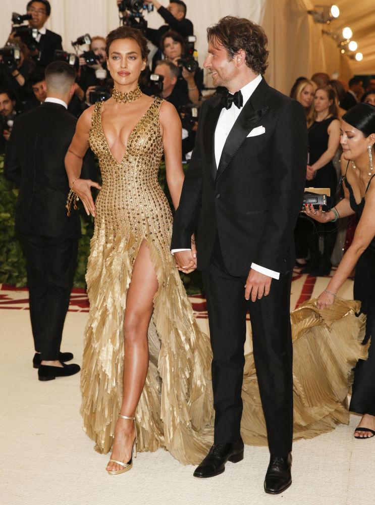 Bradley Cooper i Irina Shayk na otwarciu Met Gala 2018