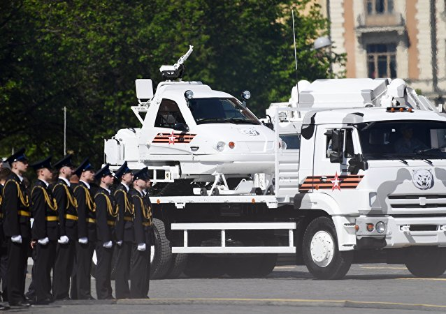 Parada wojskowa z okazji 73.rocznicy Zakończenia II Wojny Światowej