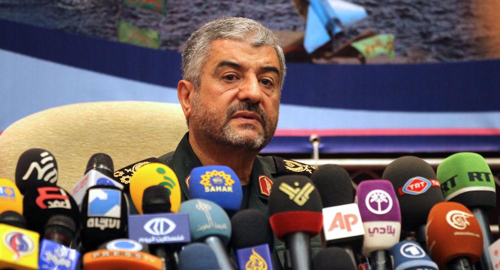 Szef Korpusu Strażników Rewolucji Islamskiej Mohammad Ali Dżafari