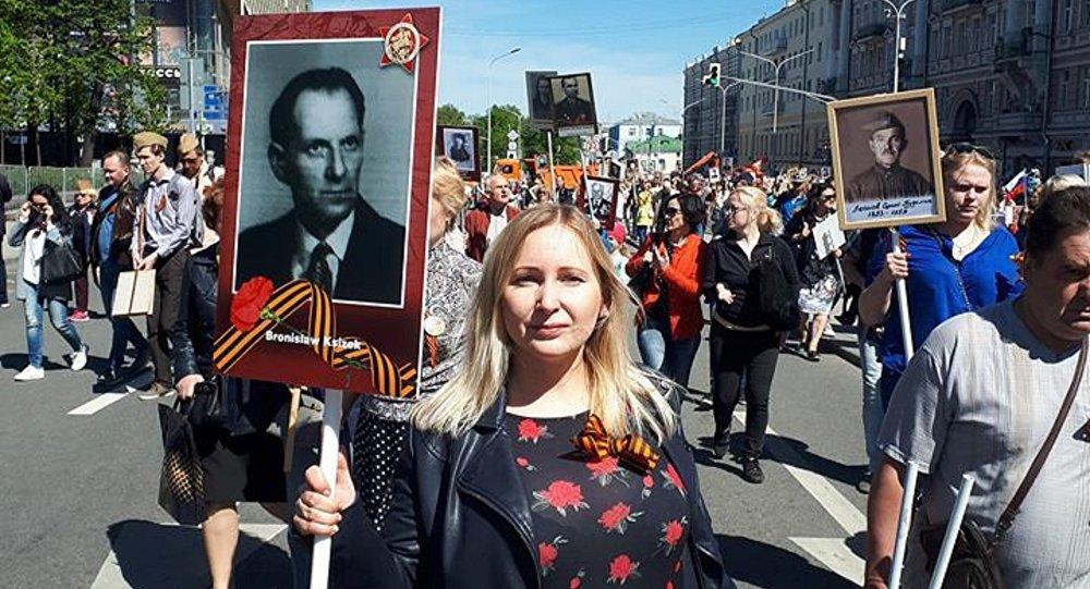 Nieśmiertelny Pułk, Moskwa 2018