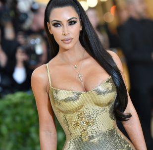 Kim Kardashian w The Metropolitan Museum of Art w Nowym Jorku