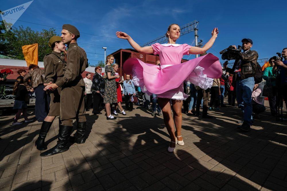 Świętowanie Dnia Zwycięstwa w Moskwie