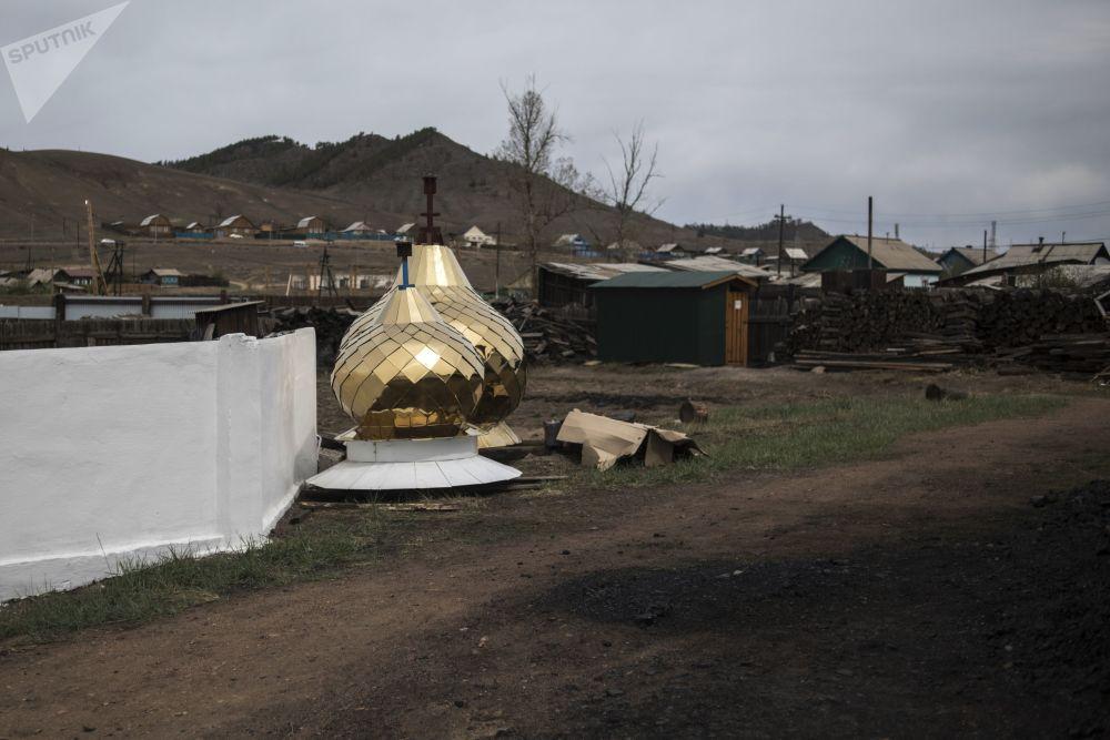 Rodzinna wioska staroobrzędowców Tarbagataj w Buriacji