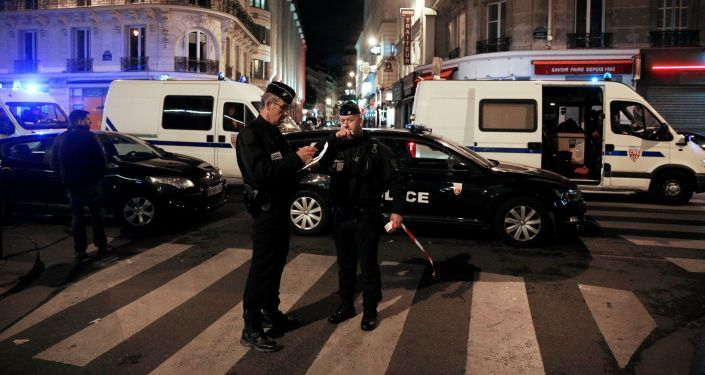 Atak nożownika w centrum Paryża