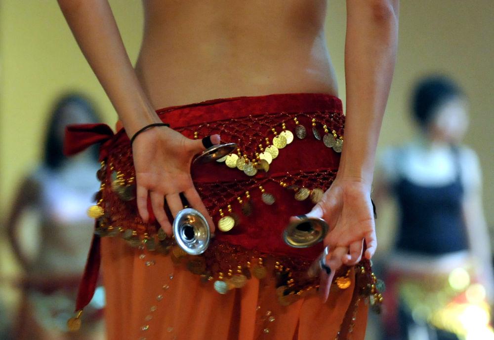 Lekcja tańca brzucha w Dżakarcie
