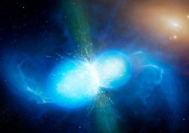 Zlanie się gwiazd neutronowych