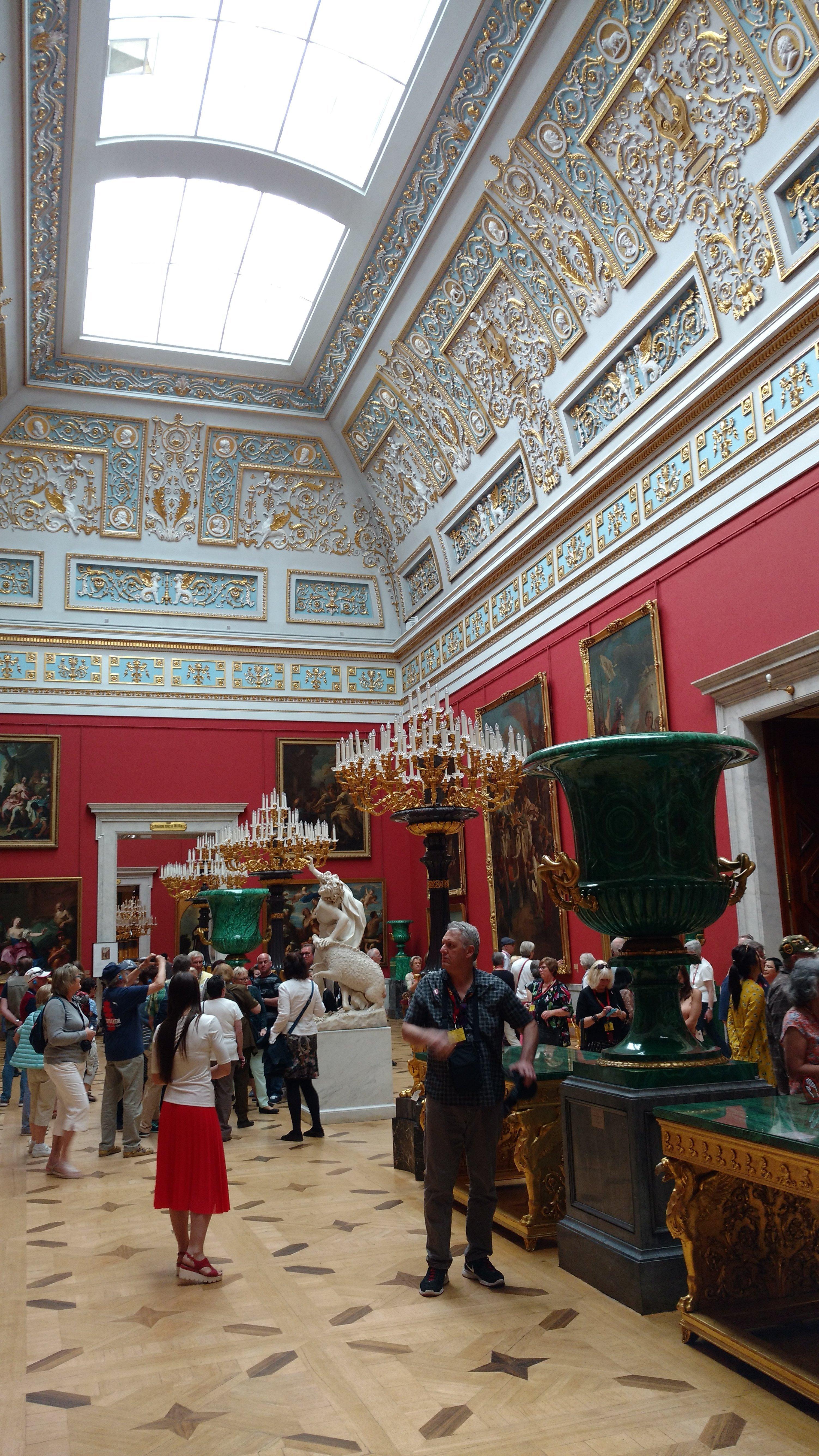 Ermitaż. Sankt Petersburg. 13 maja 2018 r.