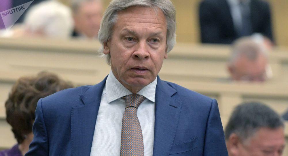 Członek Rady Federacji Zgromadzenia Federalnego Federacji Rosyjskiej Aleksiej Puszkow