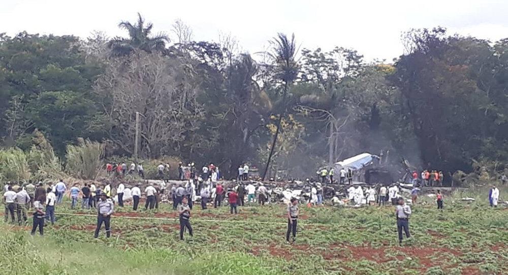 Katastrofa samolotu pasażerskiego na Kubie