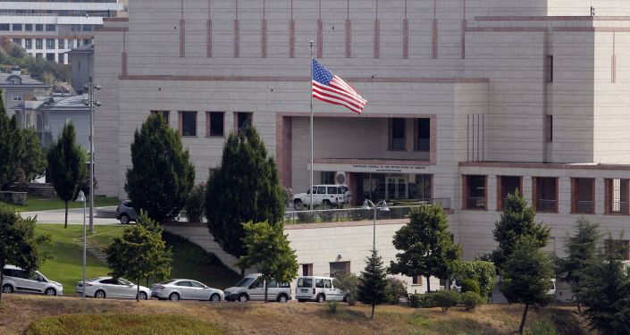 Budynek konsulatu USA w Stambule