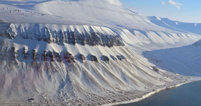 Szczyty archipelagu Spitzbergen