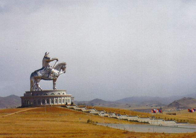 Pomnik Czyngis-chana w Mongolii