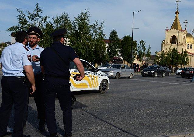 Atak na cerkiew w Groznym w Czeczenii