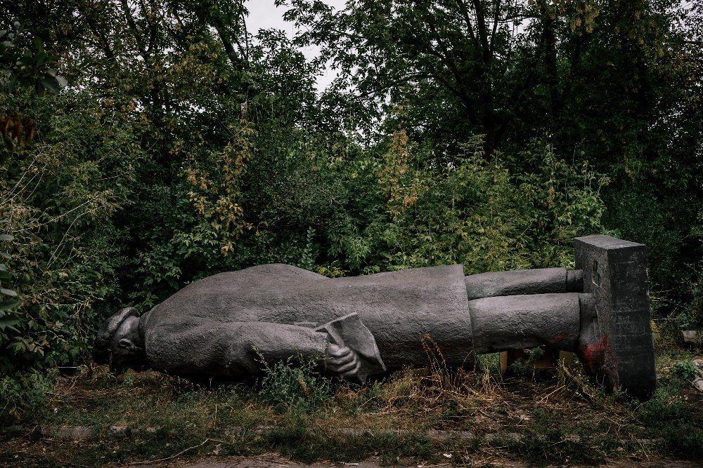 Słowiańsk, 15.10.2015r. W poszukiwaniach Lenina