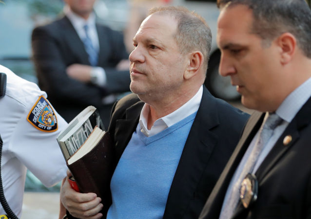 Hollywoodzki producent filmowy Harvey Weinstein
