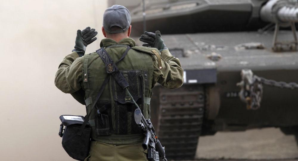 Izraelscy żołnierze na Wzgórzach Golan
