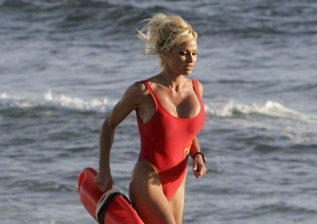 Aktorka Pamela Anderson