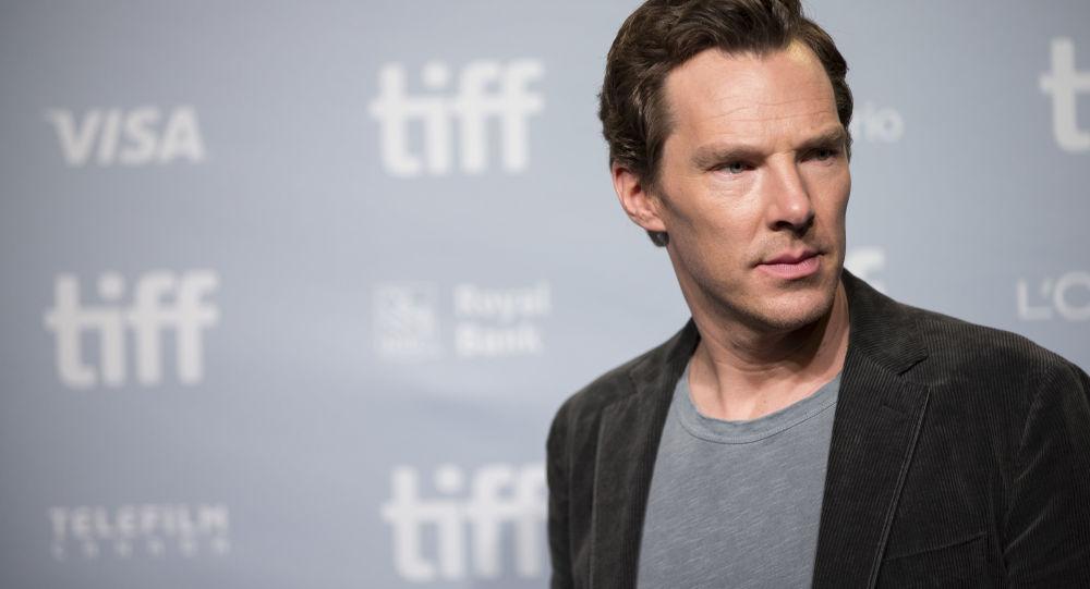 Brytyjski aktor Benedict Cumberbatch