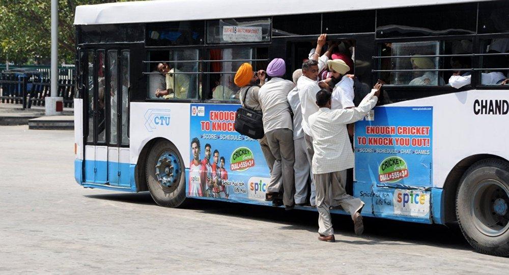 Autobus w Indiach
