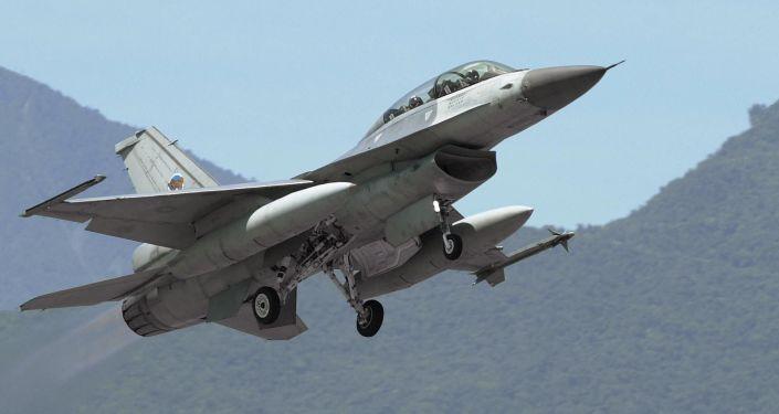 Myśliwiec F-16 Sił Powietrznych Tajwanu. Zdjęcie archiwalne