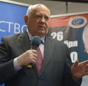 Pierwszy prezydent ZSRR Michaił Gorbaczow