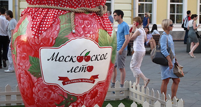 Festiwal konfitur w Moskwie - 2015