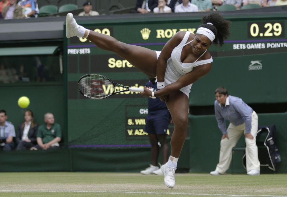 Amerykańska tenisistka Serena Williams