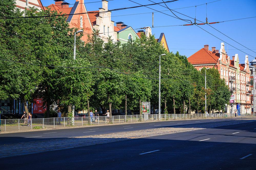 Prospekt Lenina w Kaliningradzie