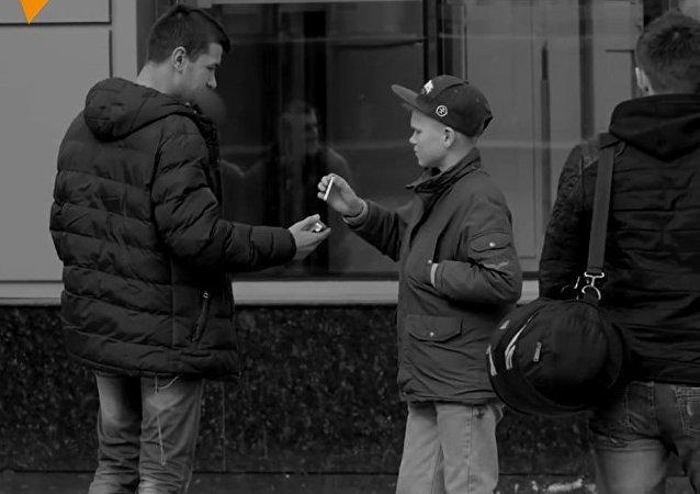 Czy poczęstowałbyś papierosem 14-latka?