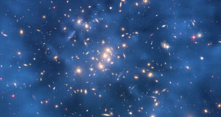 Pierścień ciemnej materii w kosmosie