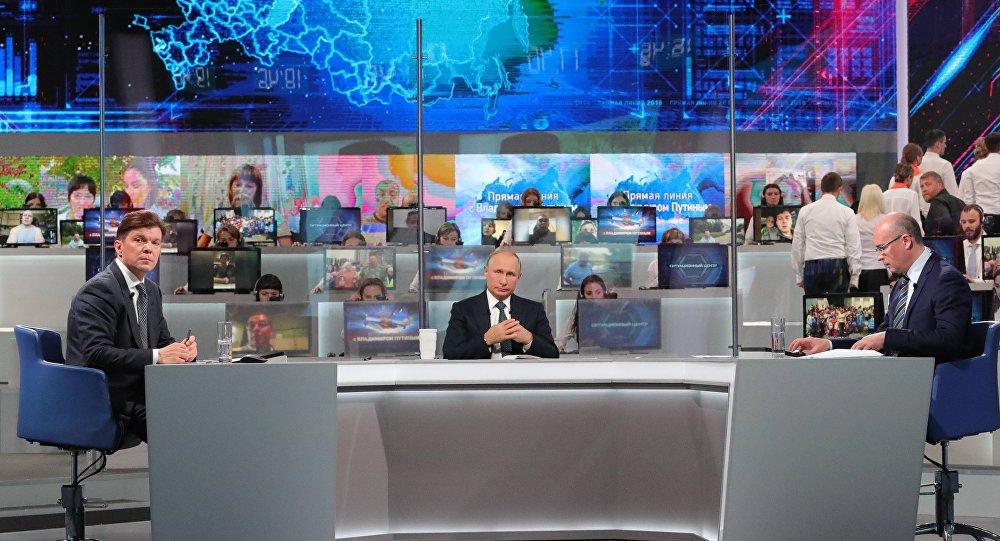 Gorąca linia z Władimirem Putinem 2018