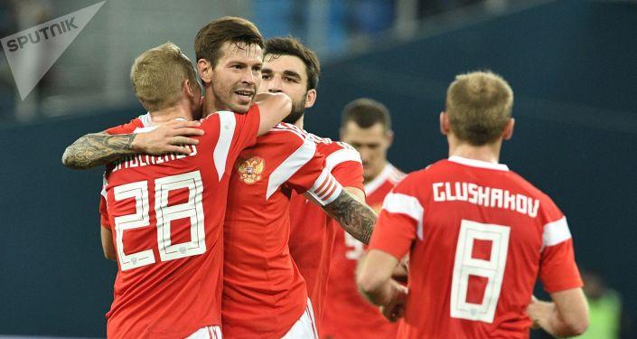 Zawodnicy reprezentacji Rosji