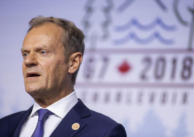 Przewodniczący Rady Europy Donald Tusk