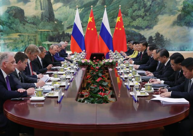 Wizyta Władimira Putina w Pekinie