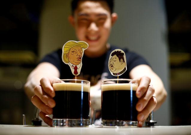 Specjalne koktajle z okazji spotkania Trumpa i Kim Dzong Una