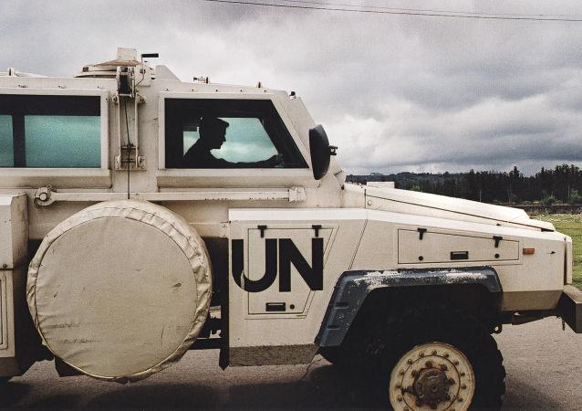 Oddziały pokojowe ONZ w Gruzji